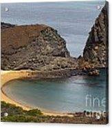 Pinnacle Rock Galapagos Acrylic Print