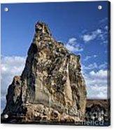 Pinnacle Rock Acrylic Print