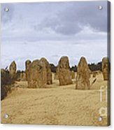 Pinnacles Australia Acrylic Print