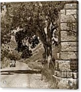 Pinnacles National Monument California Circa 1946 Acrylic Print
