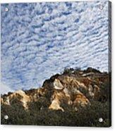 Pinnacles Of Fraser Island Acrylic Print by Linda Lees
