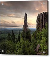Pinnacles The Dorion Tower Acrylic Print