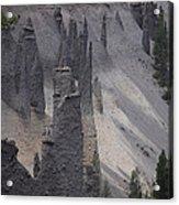 Pinnacles Valley Acrylic Print