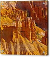 Pinnicles At Sunset Point Bryce Canyon National Park Acrylic Print by Jeff Swan