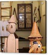 Pinocchio Acrylic Print by April Antonia