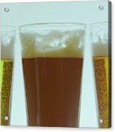 Pints Of Beer Acrylic Print