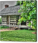 Pioneer Cabin 21 Acrylic Print