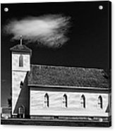 Pioneer Church Acrylic Print