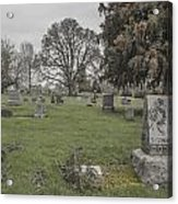 Pioneer Resting Place Acrylic Print