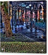 Pioneer Square In Seattle Acrylic Print