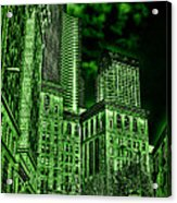Pioneer Square In The Emerald City - Seattle Washington Acrylic Print
