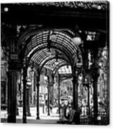 Pioneer Square Pergola Acrylic Print by David Patterson