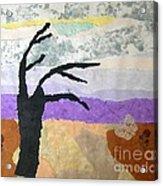 Pipal Tree Acrylic Print