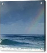 Pipe At The End Of The Rainbow Acrylic Print