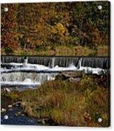 Pipe Creek Falls Acrylic Print