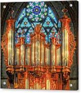 Pipe Organ Acrylic Print