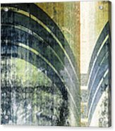 Piped Abstract Acrylic Print