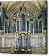 Pipes In Paris Acrylic Print