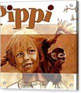 Pippi Longstocking - Fan Version Acrylic Print