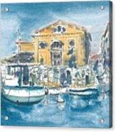 Piran - Tartini Theatre Acrylic Print