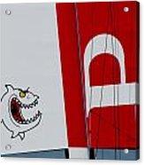 Piranha Catamaran Acrylic Print