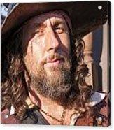 Pirate Captain Acrylic Print