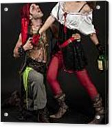 Pirate Couple 1 Acrylic Print