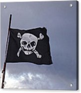 Pirate Flag Acrylic Print