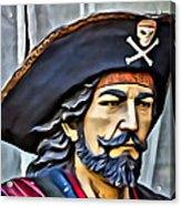 Pirate Man Acrylic Print
