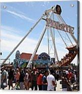 Pirate Ship At The Santa Cruz Beach Boardwalk California 5d23854 Acrylic Print by Wingsdomain Art and Photography
