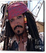 Pirate With Kind Eyes Acrylic Print