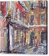 Pirate's Alley Acrylic Print
