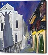 Pirate's Alley French Quarter Painting  Acrylic Print