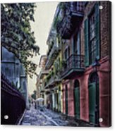 Pirate's Alley In New Orleans Acrylic Print