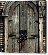 Pirates Door Acrylic Print