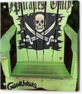 Pirates Only Acrylic Print
