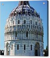 Pisa Basilica Acrylic Print