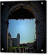 Pisa Square Acrylic Print