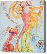 Pisces Acrylic Print