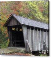 Pisgah Covered Bridge Acrylic Print