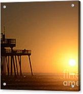 Pismo Beach Pier California 6 Acrylic Print