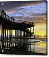 Pismo Sunset View Acrylic Print