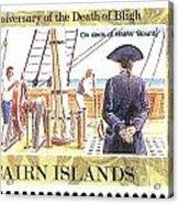 Pitcairn Island Stamp Acrylic Print