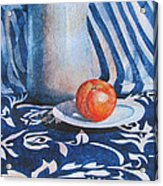 Pitcher With Fruit Acrylic Print