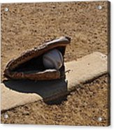 Pitchers Mound Acrylic Print by Bill Cannon
