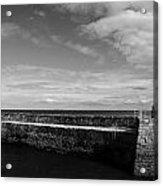 Pitenweem Harbour Wall Acrylic Print