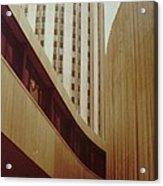 Pitt Towers Acrylic Print