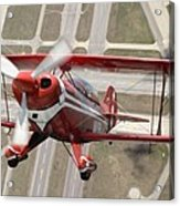 Pitts Special S-2b Acrylic Print by Larry McManus