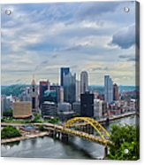 Pittsburgh And Above Acrylic Print