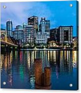 Pittsburgh Blue Hour Acrylic Print